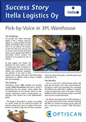 Click here and read how Itella Logistics uses Pick-by-Voice in a 3PL warehouse 
