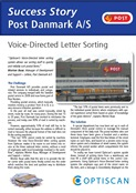 Click here and read more about the letter sorting solution at Danish Post