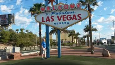 Markus and Mikko in Las Vegas