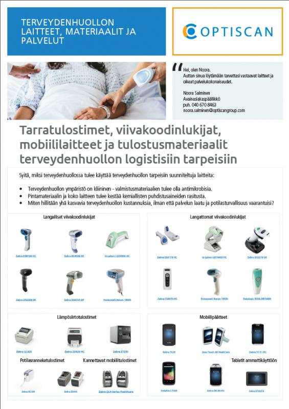 Terveydenhuollon laitteet