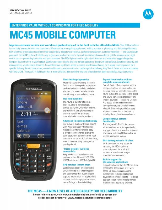 Motorola MC45