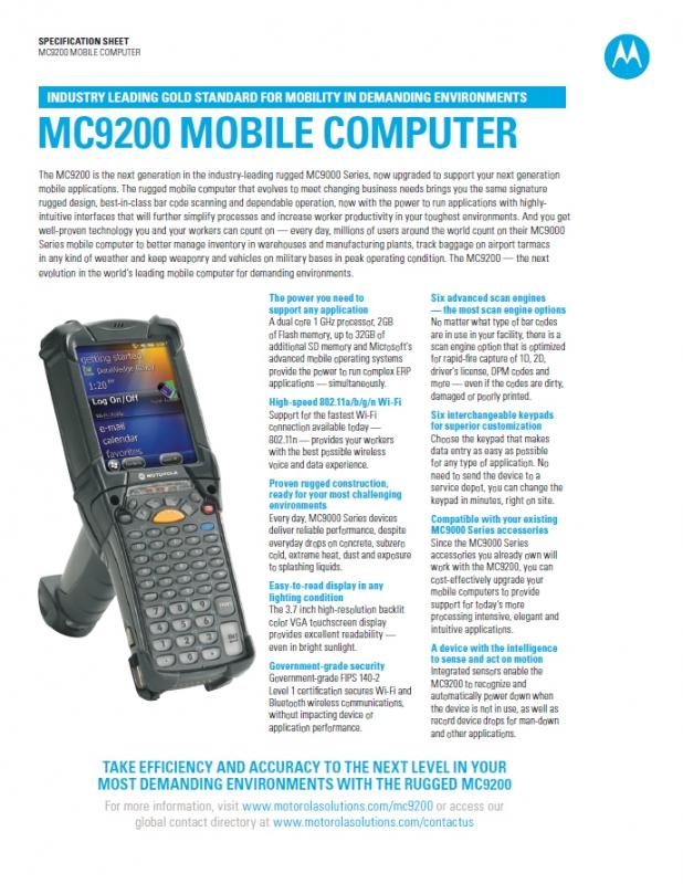Motorola MC9200