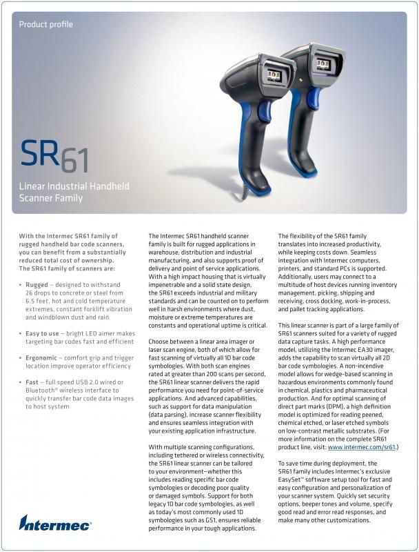 Intermec SR61