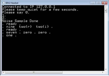 Voice dialog when using SoundSense