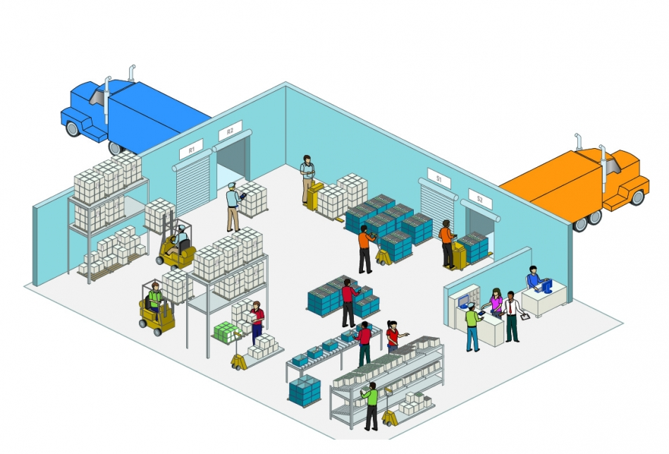 4 simple steps to improve your warehouse - Optiscan