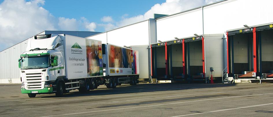 BergendahlsGruppen warehouse loading bridge
