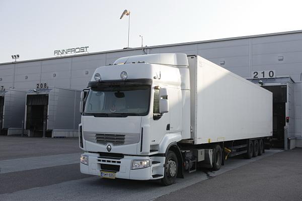Finnfrost logistics center