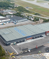 Berner Osakeyhtiö Viinikkala warehouse